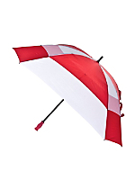 Red Square Gel Handle Umbrella