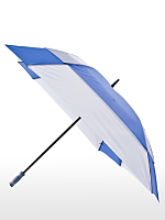 Royal Blue Square Gel Handle Umbrella