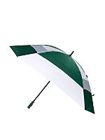Hunter Green Square Gel Handle Umbrella
