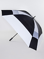 Black Square Gel Handle Umbrella
