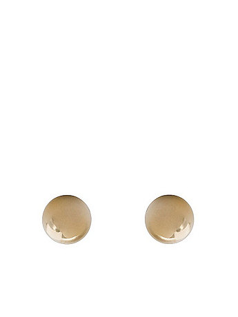 6mm Ball Stud Gold Plated Post Earrings