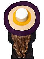 Multicolor Floppy Summer Hat