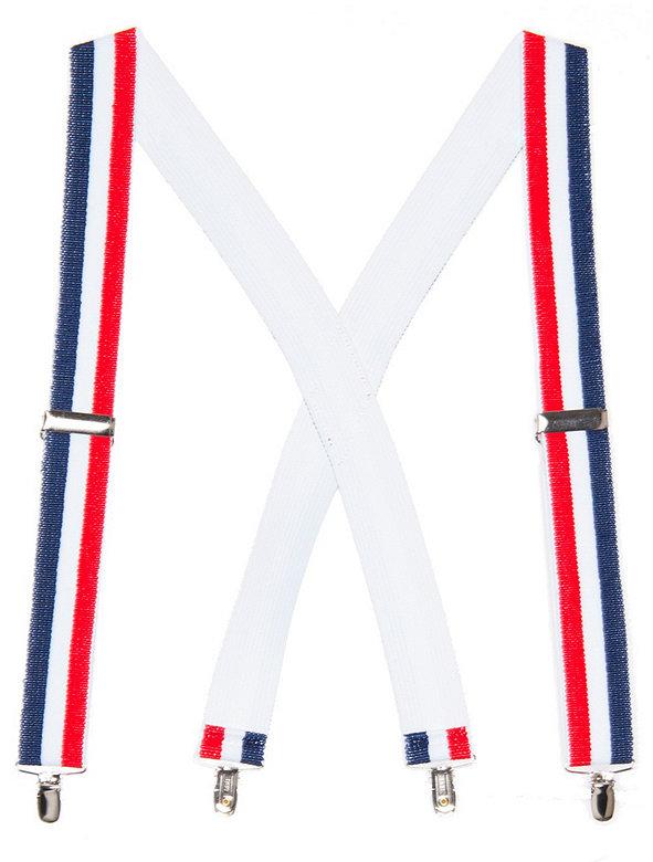 Unisex Stripe Suspender - 1 1/2 inch