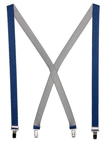 Unisex Polka Dot Suspender - 1 inch