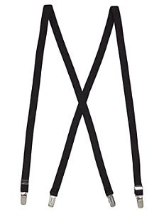 Unisex Solid Suspender 3/4 inch