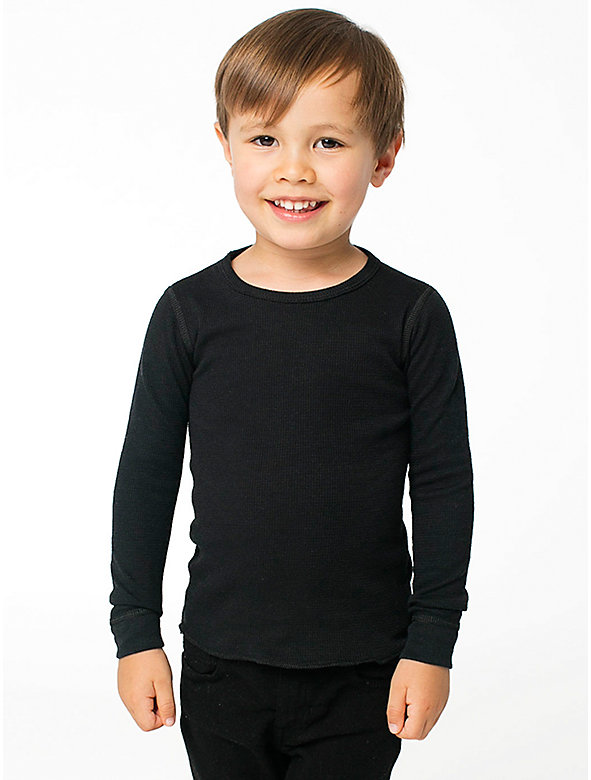 Kids' Baby Thermal Long Sleeve T-Shirt