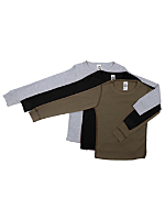 Youth Baby Thermal Long Sleeve T (3-Pack)
