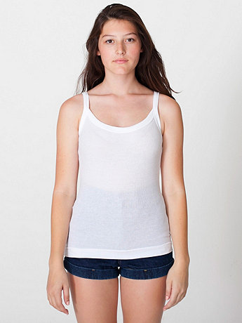 Baby Thermal Scoop Neck Tank