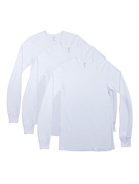 Baby Thermal Long Sleeve T-Shirt (3-Pack)