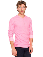 Neon Baby Thermal Long Sleeve Henley
