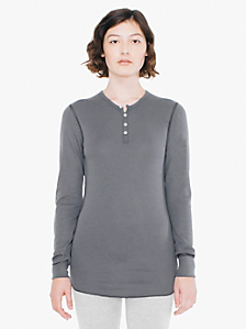 Unisex Baby Thermal Long Sleeve Henley