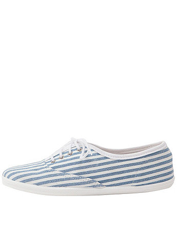 Unisex Striped Tennis Shoe