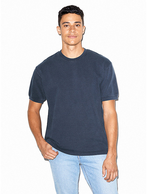 French Terry Crewneck T-Shirt