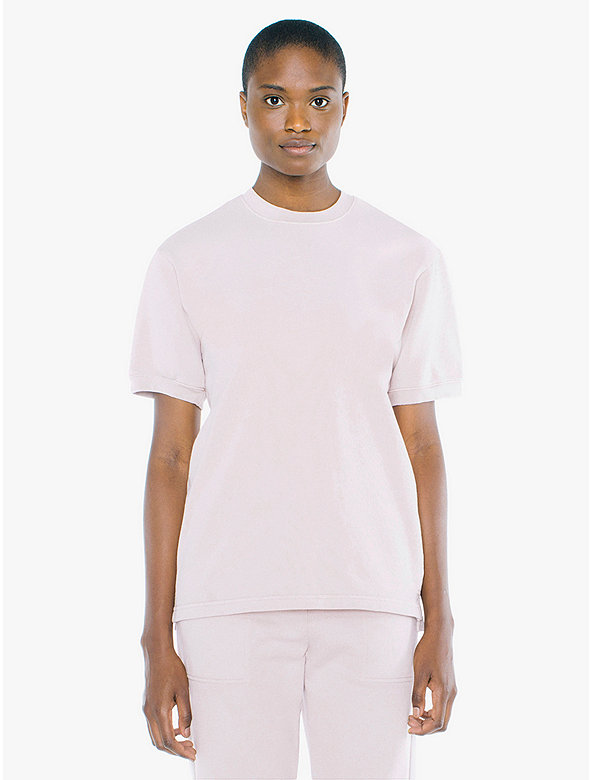 Unisex French Terry Crewneck T-Shirt