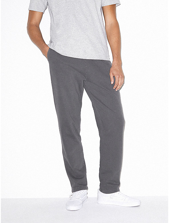 French Terry Straight Leg Pant
