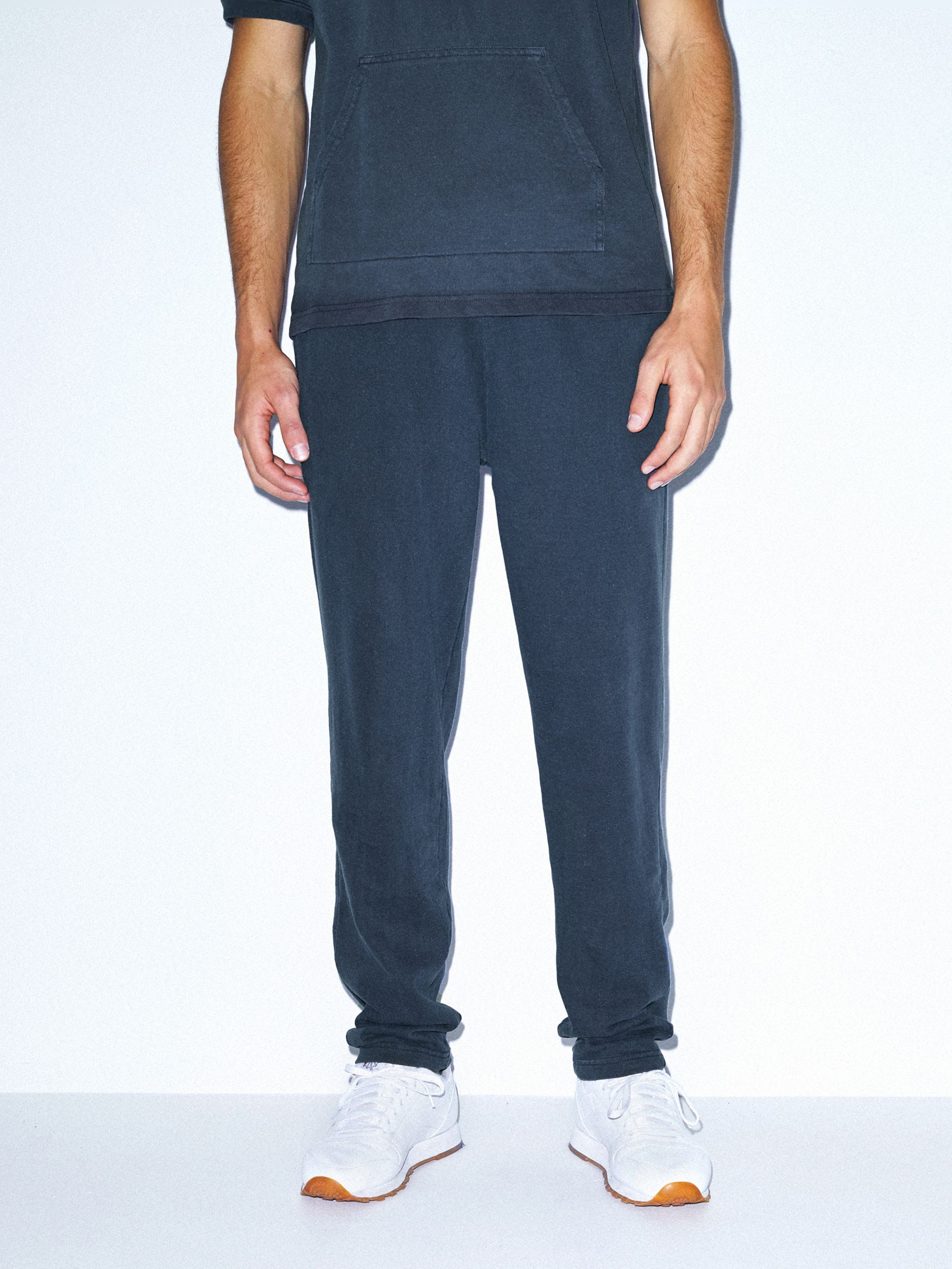 French Terry Straight Leg Pant | Tuggl
