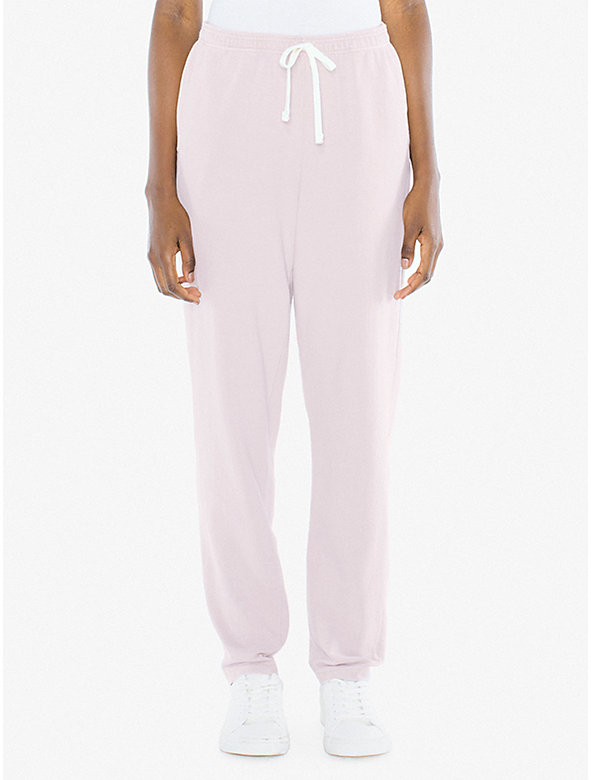 Unisex French Terry Straight Leg Pant