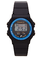 Blue Timeco Circles Wristwatch