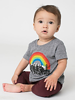 San Francisco Local Infant Tri-Blend Short Sleeve T-Shirt