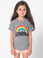 Kids' San Francisco Screen Printed Tri-Blend T