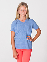 Youth Tri-Blend V-Neck T-Shirt