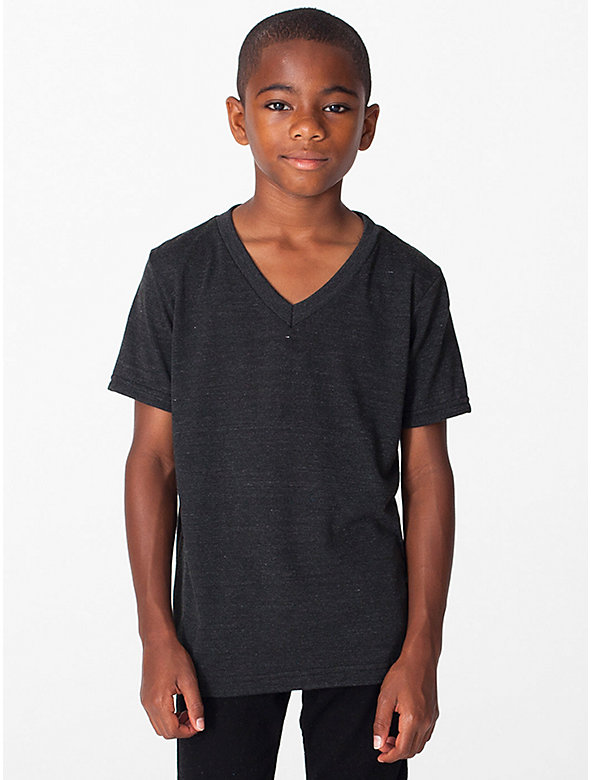 Youth Tri-Blend V-Neck T-Shirt