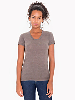 Tri-Blend Short Sleeve Women's Track T