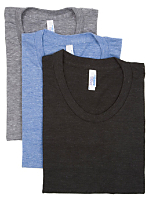 Tri-Blend Short Sleeve Women's Track T (3-Pack)