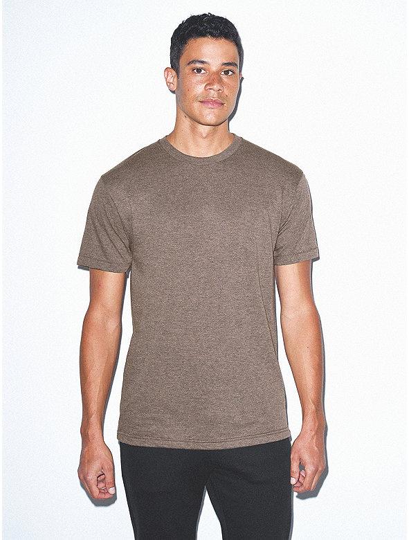 Tr-Blend Crewneck Track T-Shirt