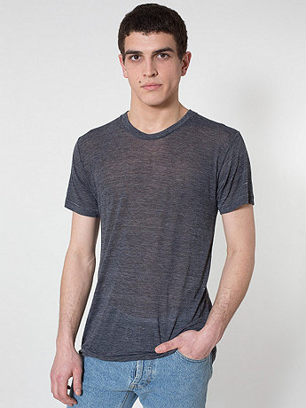 See Thru Tri-Blend Track Shirt