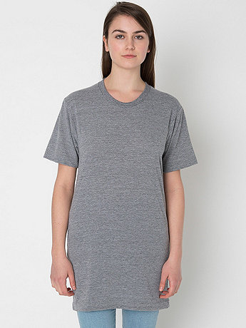 Unisex Tri-Blend Short Sleeve Tall Tee