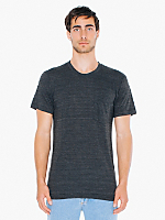 Tri-Blend Pocket Short Sleeve T-Shirt