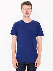 Tri-Blend Pocket Short Sleeve T-Shirt