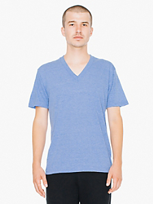 Tri-Blend Short Sleeve V-Neck