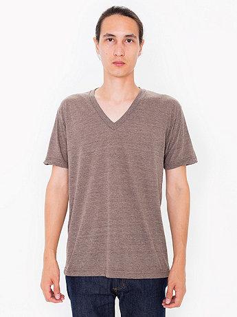 Tri-Blend Short Sleeve V-Neck