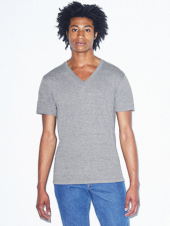 Unisex Tri-Blend Short Sleeve V-Neck