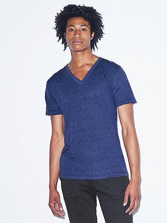 Unisex Tri-Blend Short Sleeve V-Neck