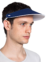 Unisex Foam and Spiral Visor