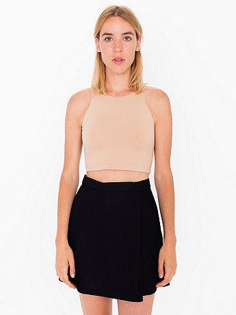 Micro-Poly Cheerleader Wrap Skirt