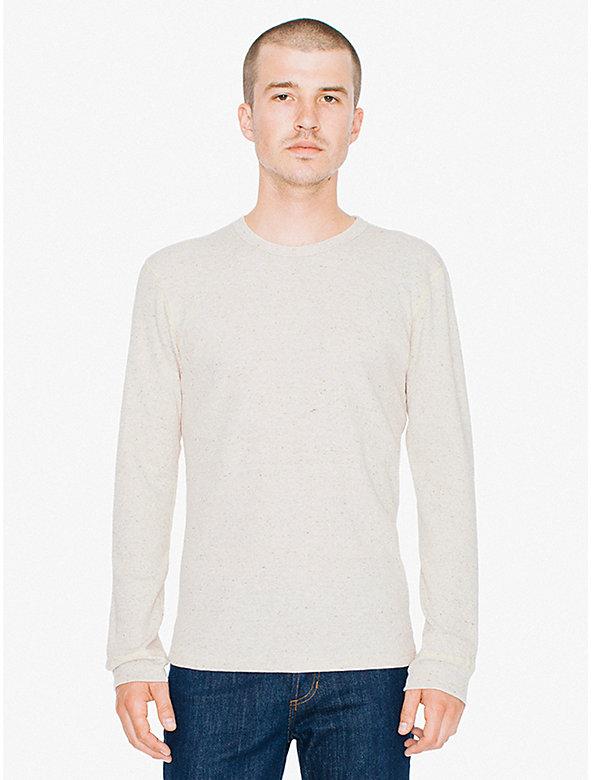 Waffle Thermal Crewneck Long Sleeve T-Shirt
