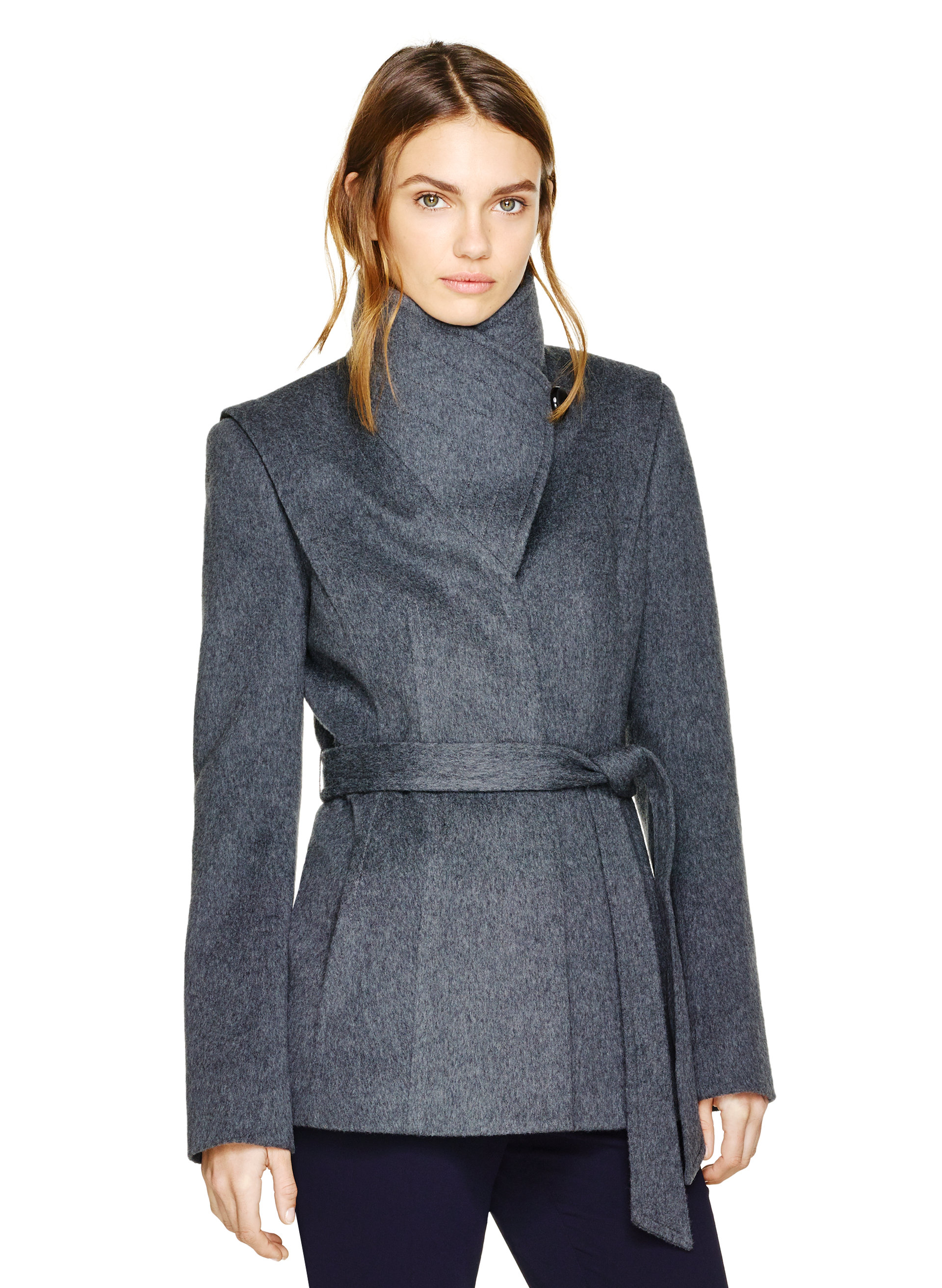 SPENCER WOOL COAT | Aritzia