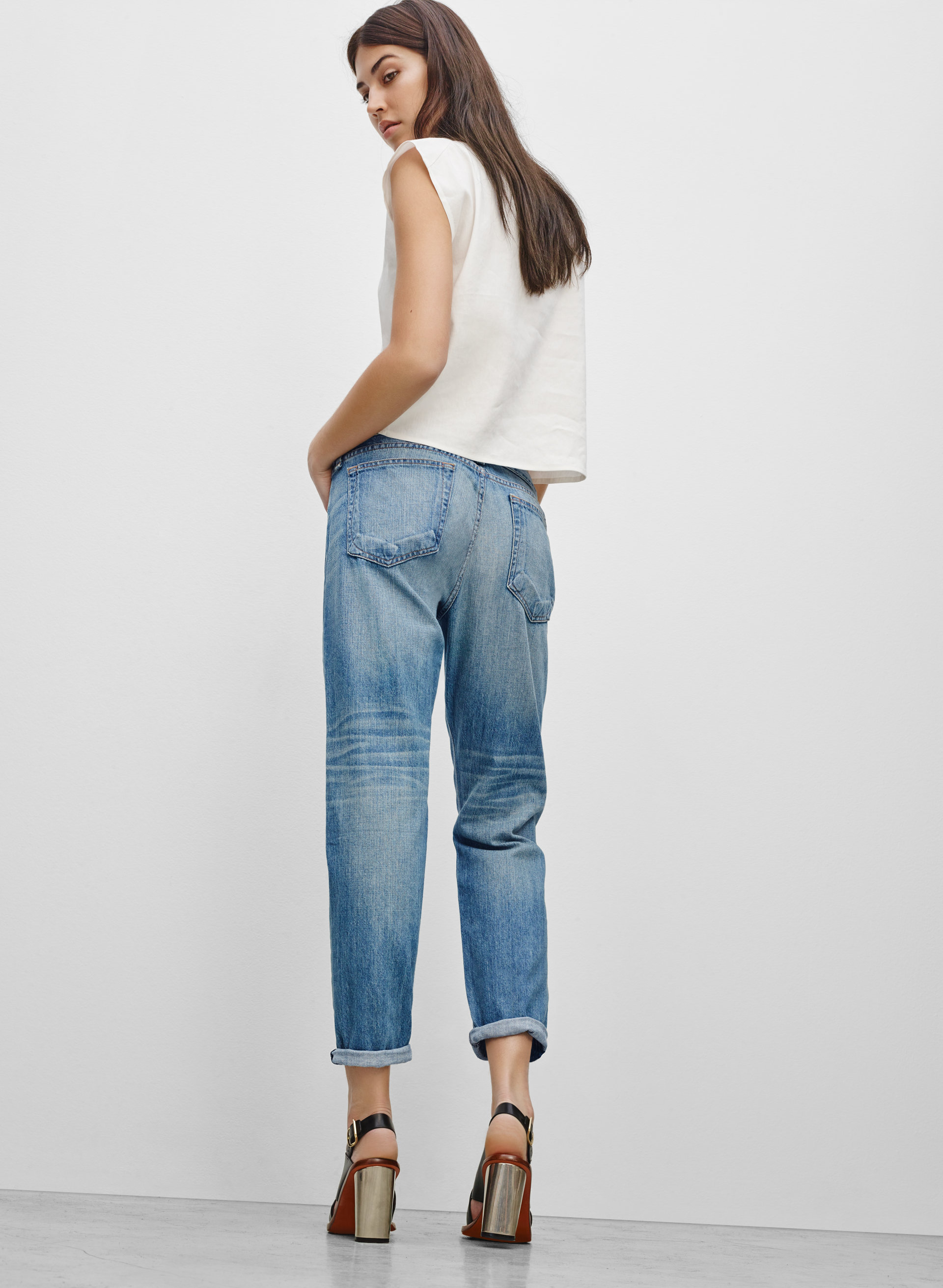 Shop a wide selection of plus size boyfriend jeans for women. Find the perfect color and style for you at Roamans - stylish plus size clothing and apparel for women.