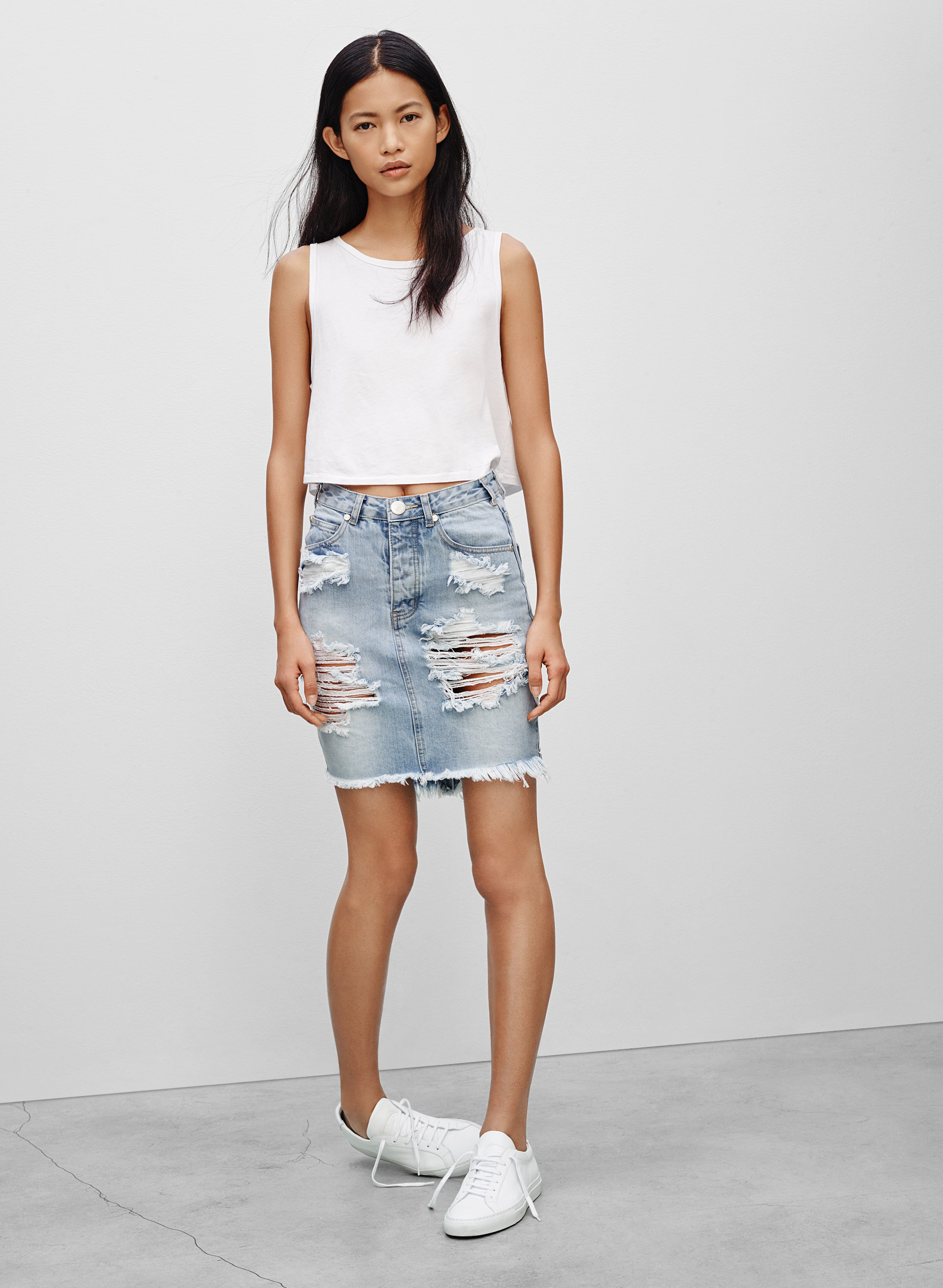 One Teaspoon Denim Skirts One Teaspoon SKIRT WILDE