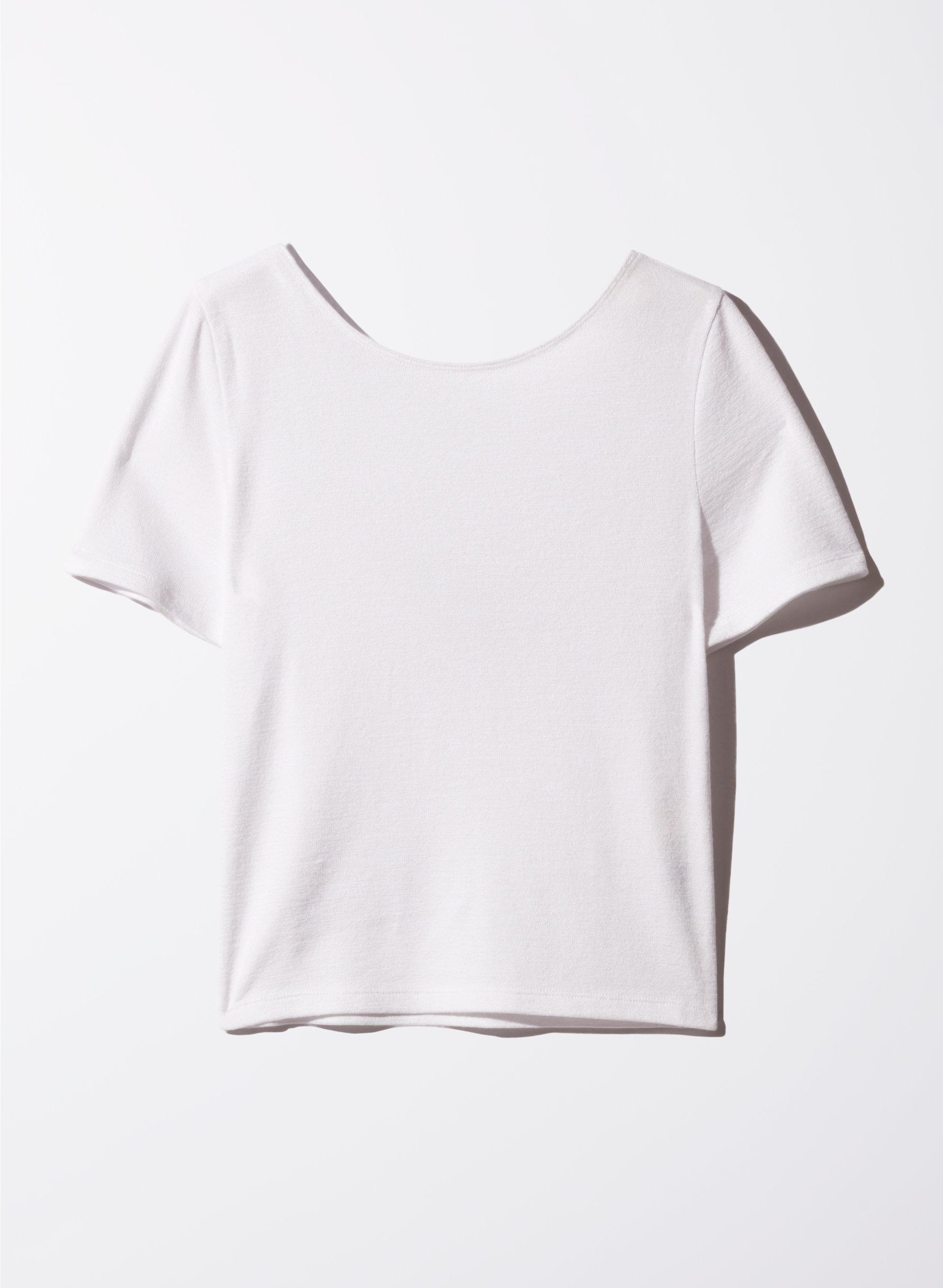 White t shirt crop top - Wilfred Free Juliana T Shirt Aritzia