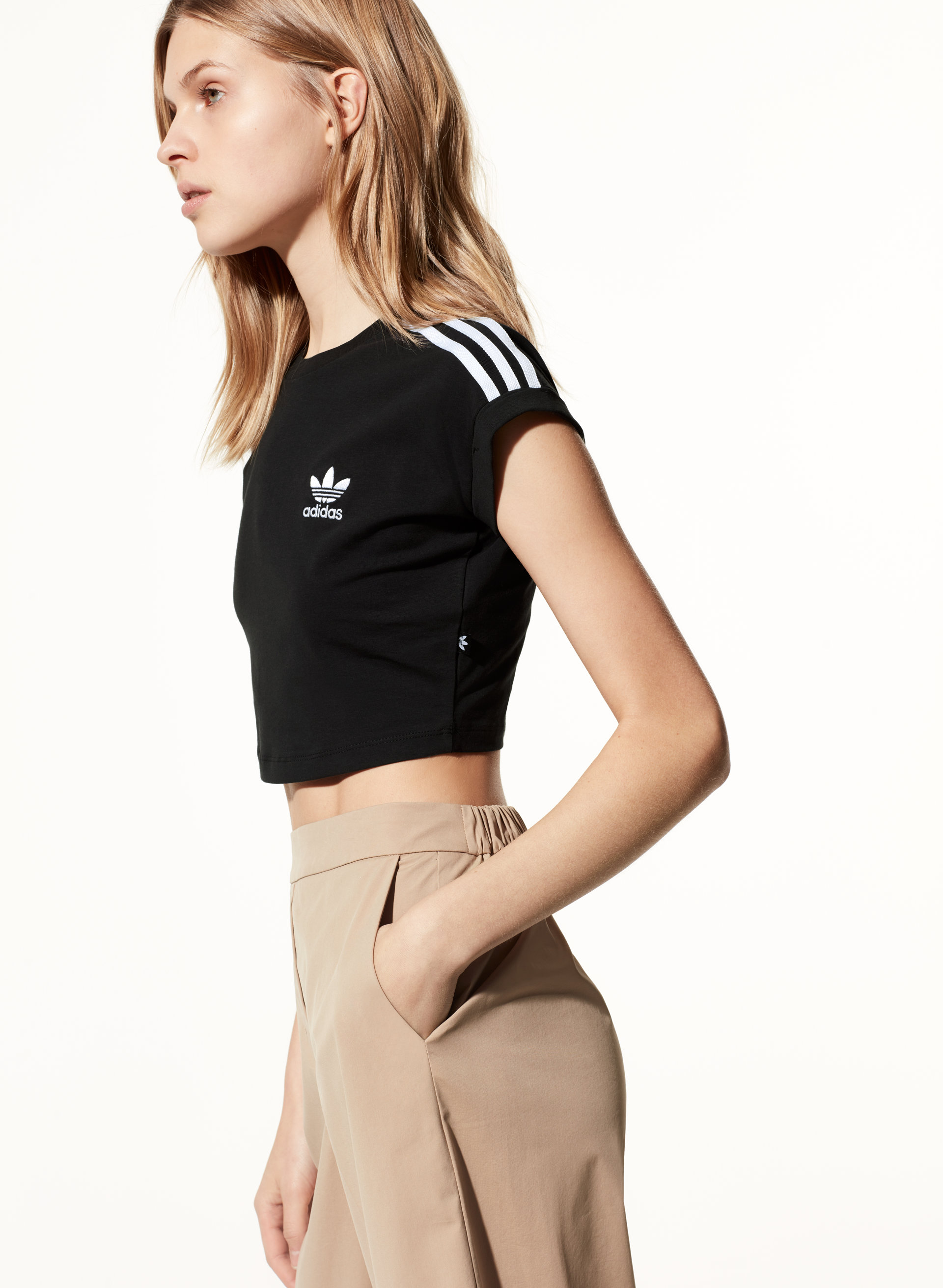 adidas CROPPED TOP | Aritzia