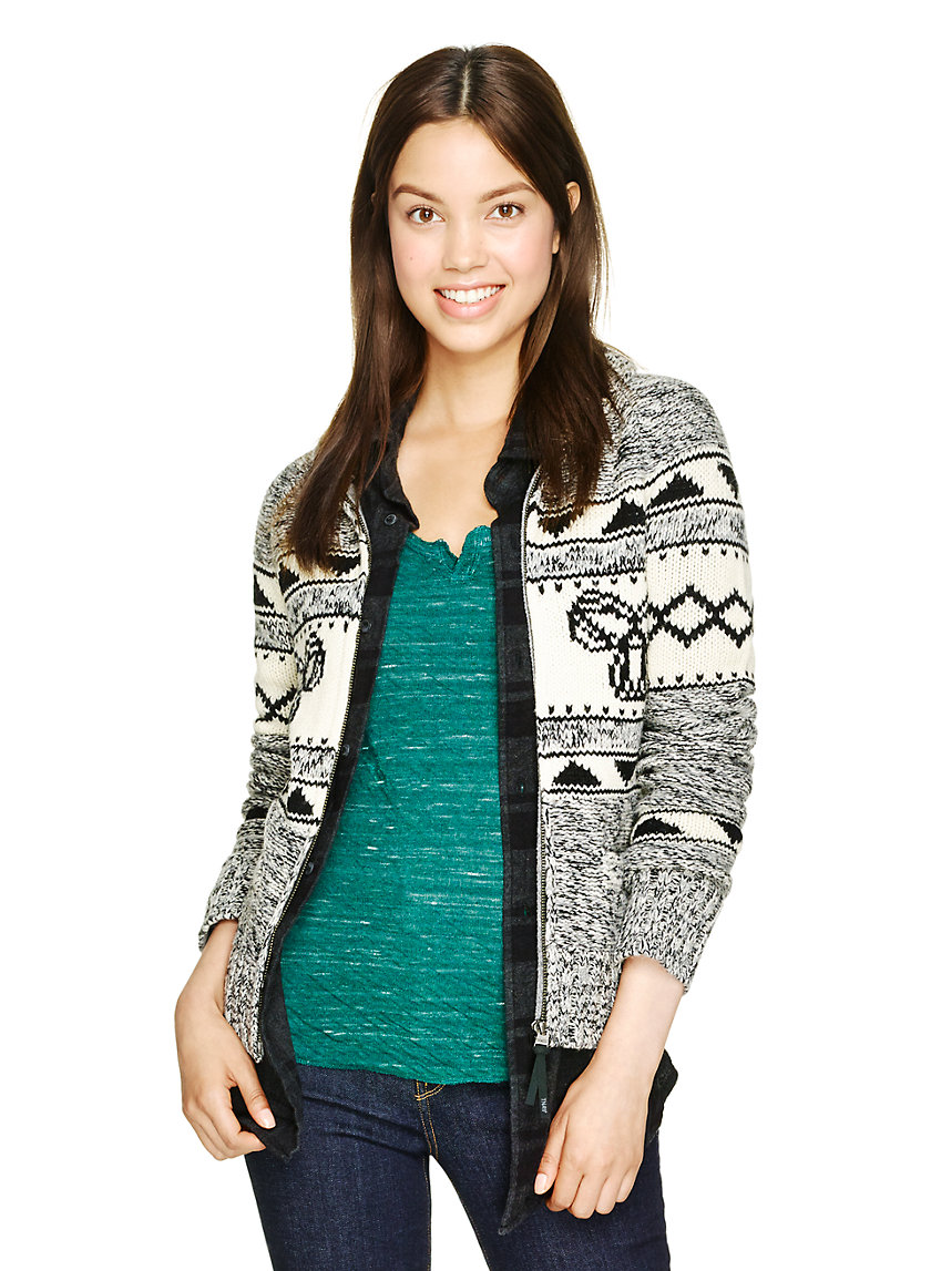 TNA SEA-TO-SKY SWEATER | Aritzia
