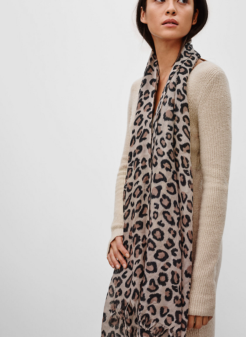 Wilfred LEOPARD RECTANGLE | Aritzia