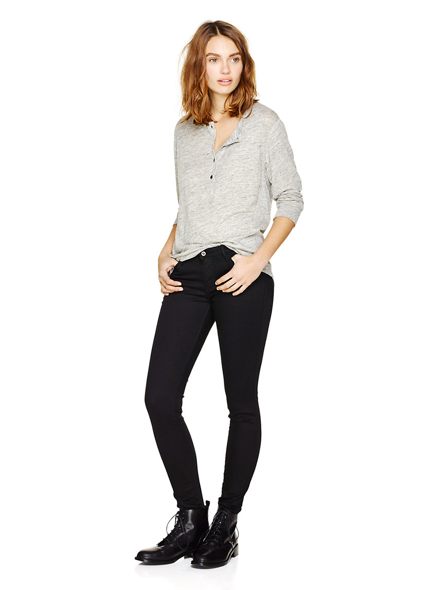 Levi Strauss & Co. LEGGING DESERT BLACK | Aritzia