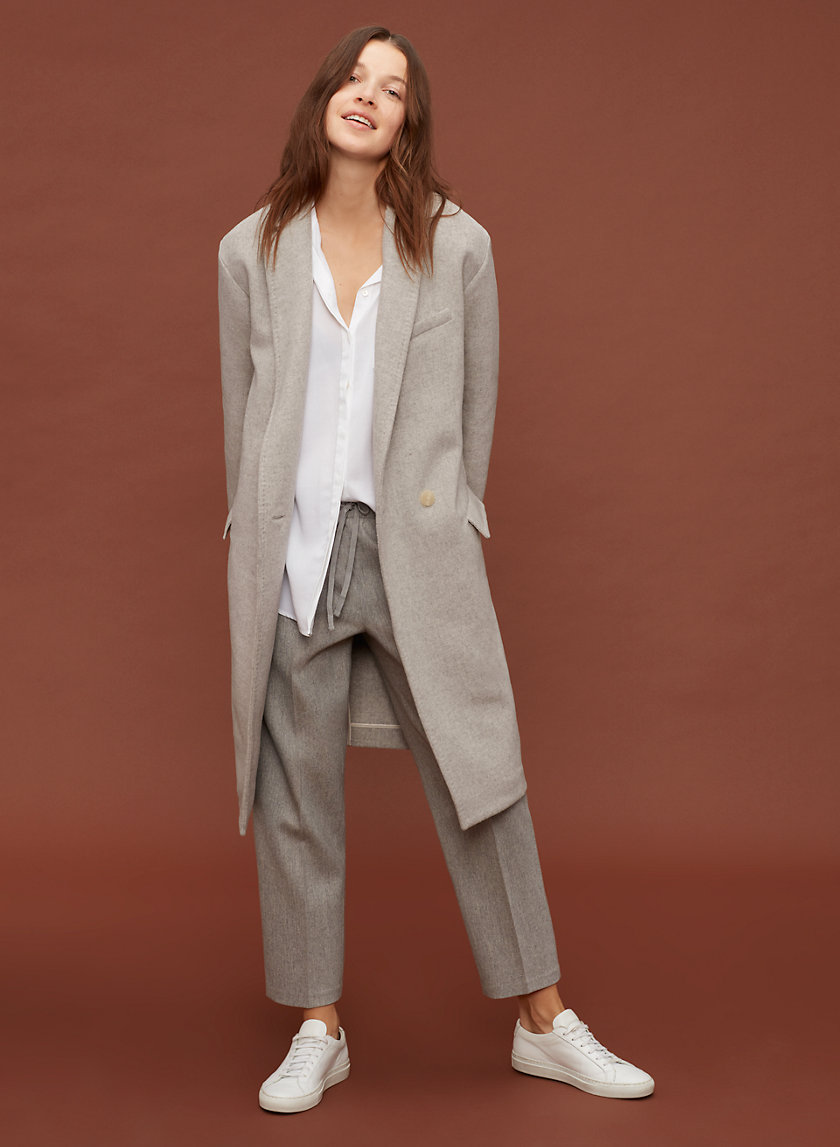 The Group by Babaton BERNARD COAT | Aritzia