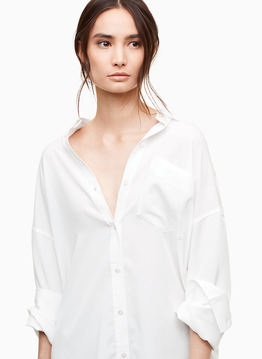The Group by Babaton CUNNINGHAM SHIRT | Aritzia